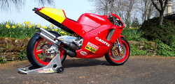 Cagiva C588 Side View4