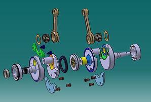 Crank Assembly Reverse Engineering and D