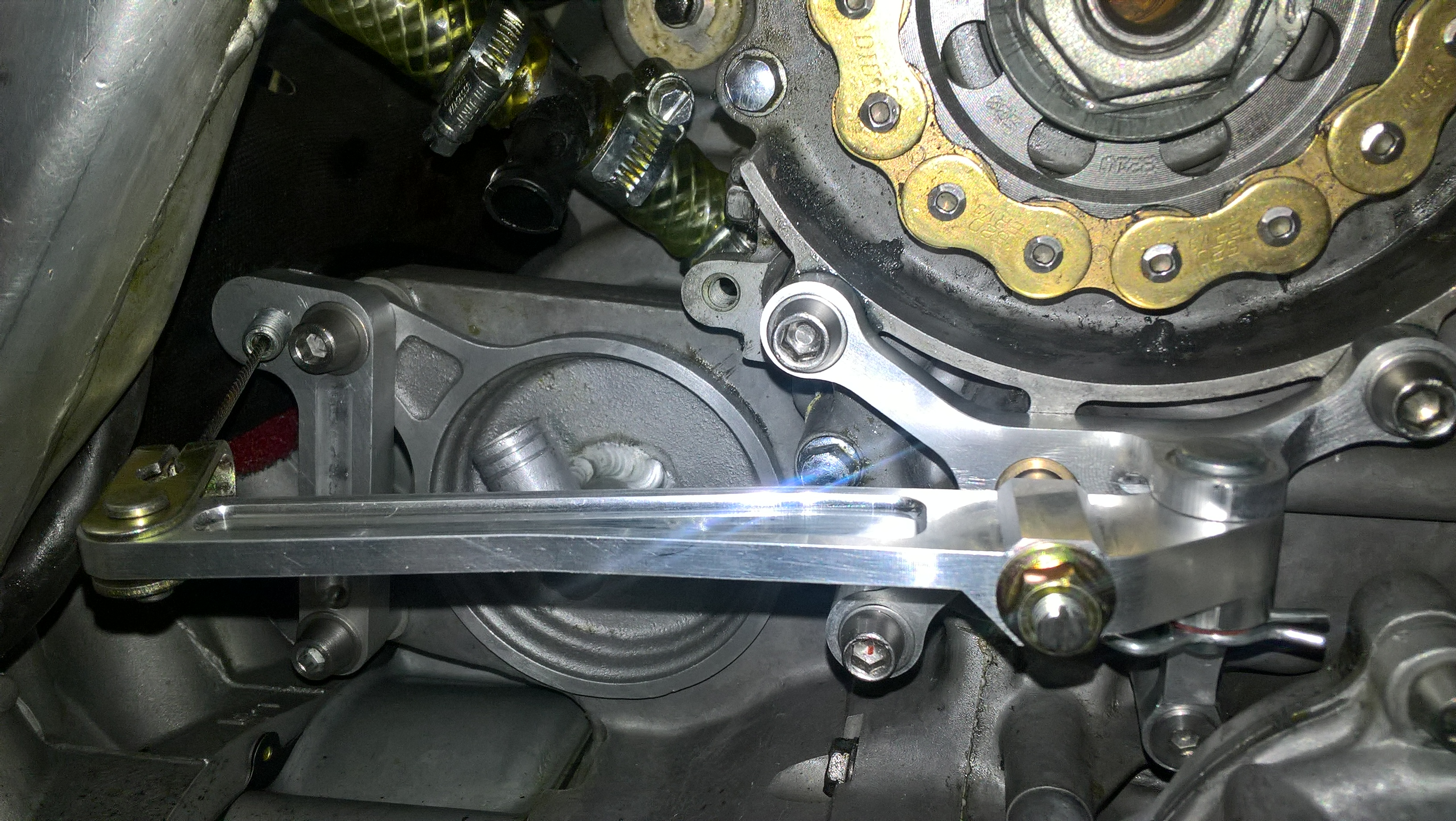 Cable Clutch ZXR750 Bike Pic 3