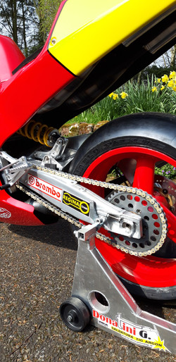 Cagiva C588 Rear View2