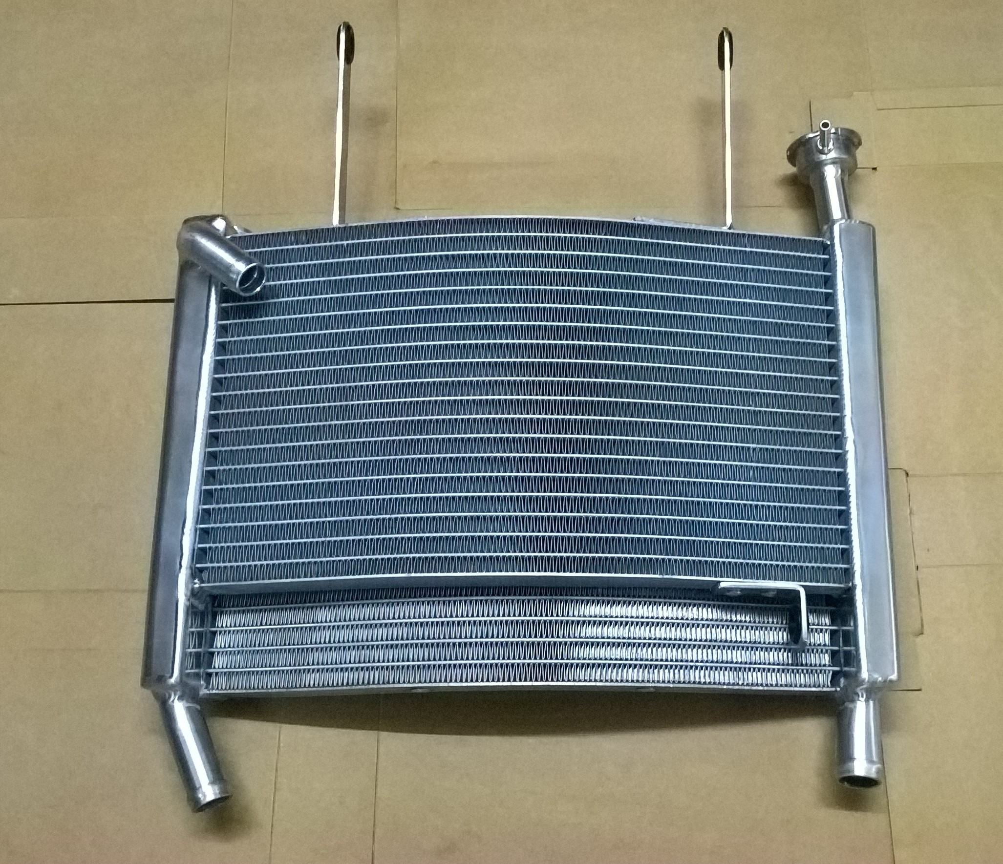 RS250 Radiator Intake Under Yoke Pic1