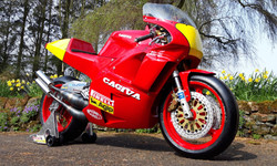 Cagiva C588 Side View1