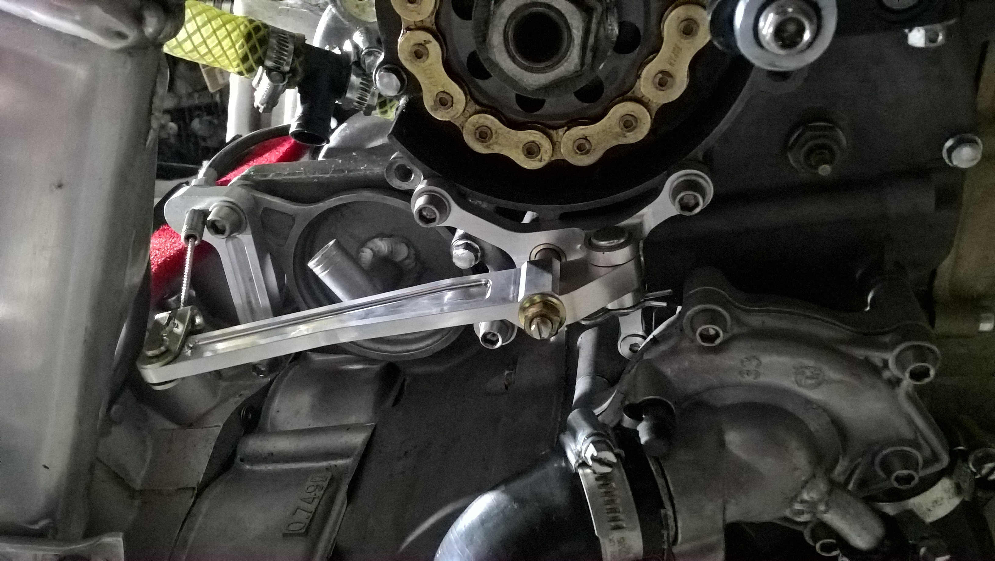 Cable Clutch ZXR750 Bike Pic 2