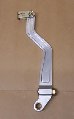 Cranked lever arm