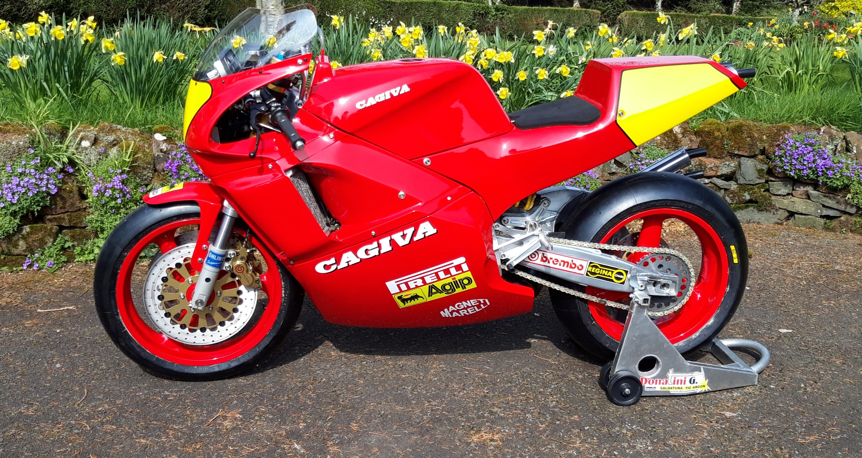Cagiva C588 Side View5