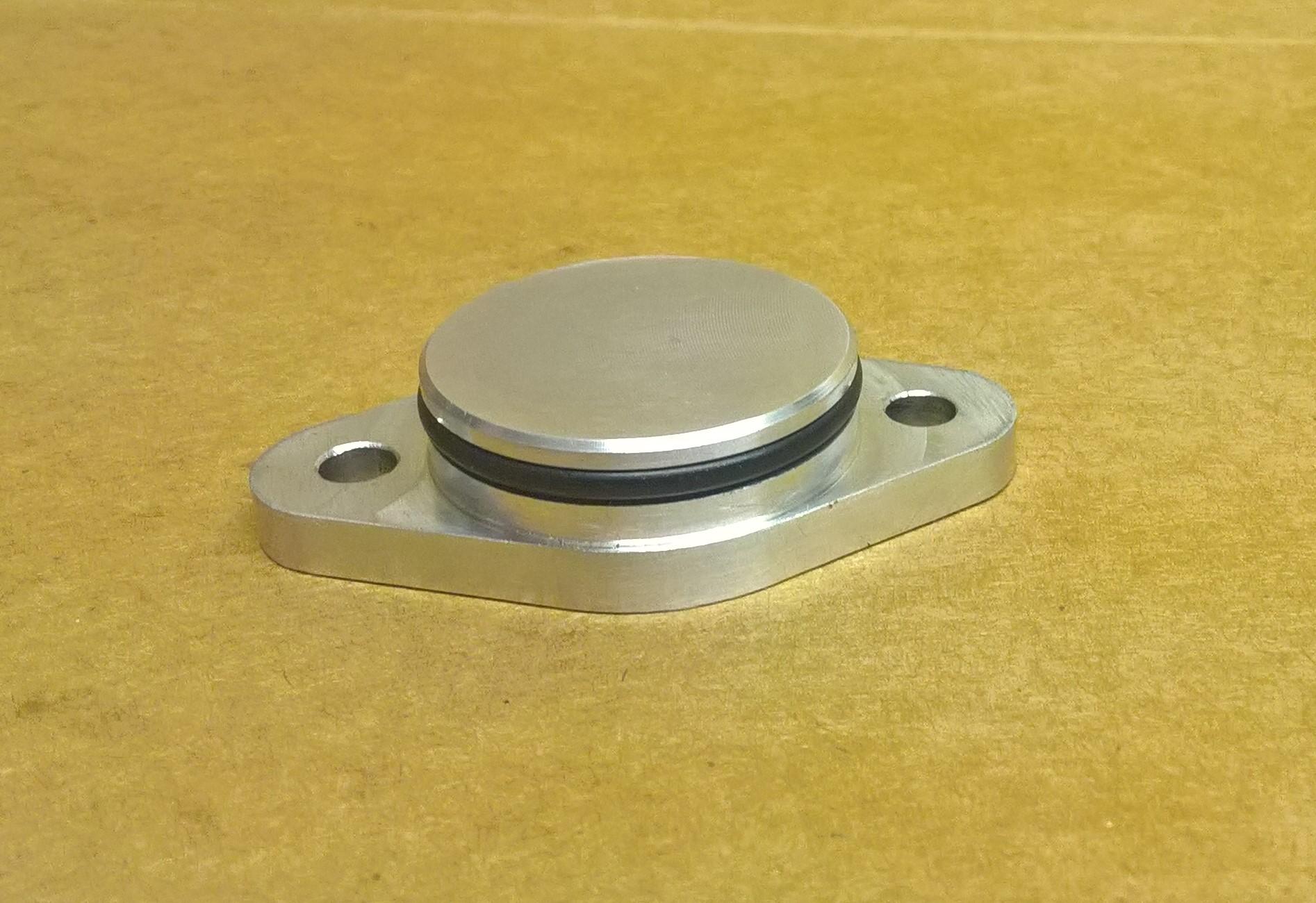 Kawasaki ZX7 Gear Position Sensor Blanking Plate Pic 1
