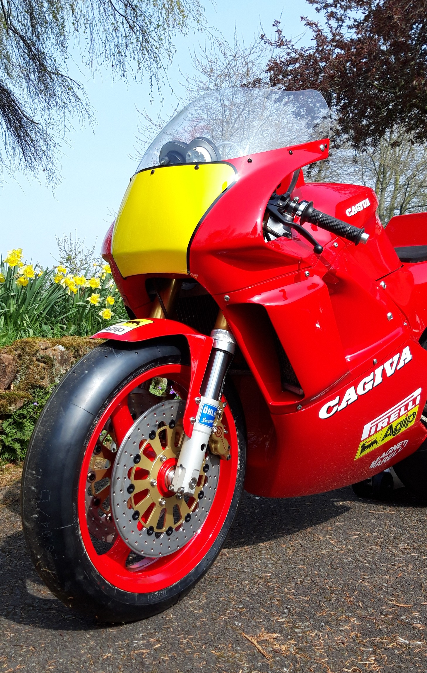Cagiva C588 Front View1