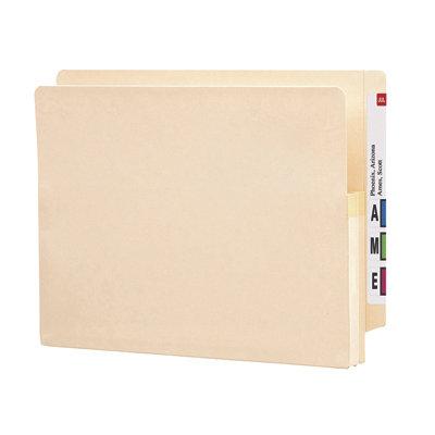 Carpeta de expansión con ceja reforzada en papel manila