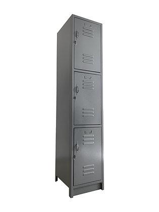 Locker Metálico Medidas: 30x30x180 con 3 puertas