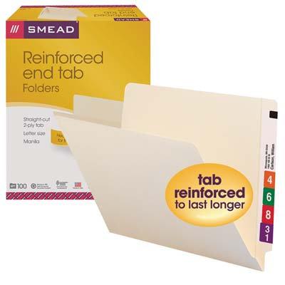 Folders Clasificación lateral con ceja reforzada