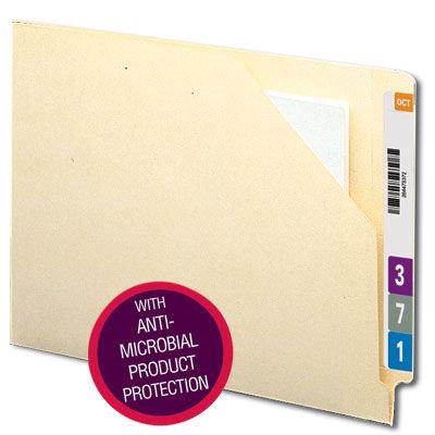 Folder tipo bolsa de clasificación lateral antimicrobiano