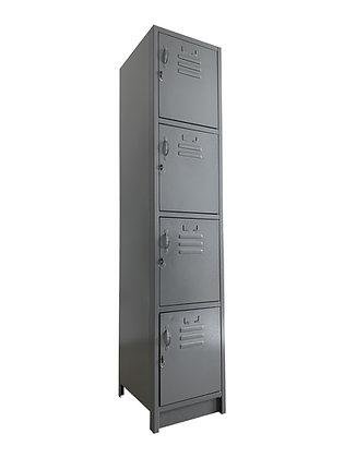 Locker Metálico Medidas: 38x45x180 con 4 puertas