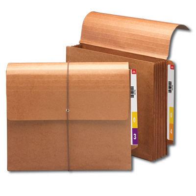 Carpeta de expansión con ceja reforzada cierre elástico