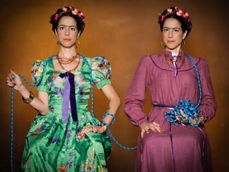Olivia Guhler als Frida Kahlo