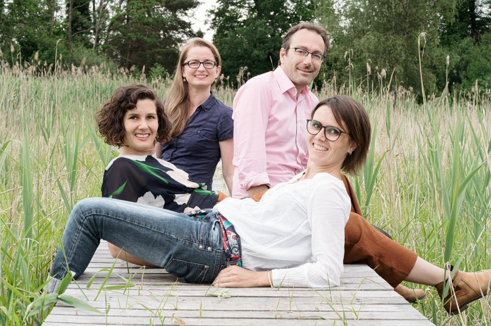 Friederike Kunath, Franz Tóth, Doro König & Sarah Ley