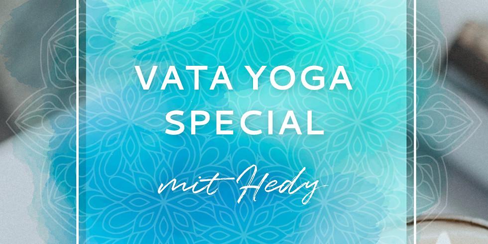 ONLINE - 2 h - Ayurveda Vata Yoga Special