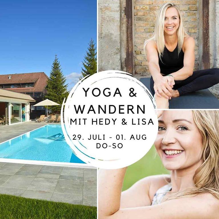 AUSGEBUCHT - YOGA, WANDERN & WELLNESS mit Lisa & Hedy