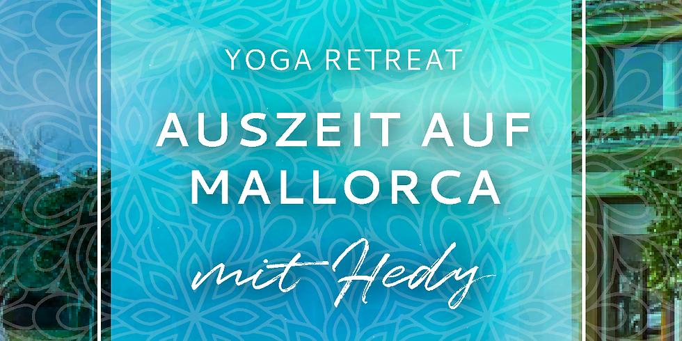 AUSGEBUCHT! Yoga Retreat - Auszeit auf Mallorca mit Hedy