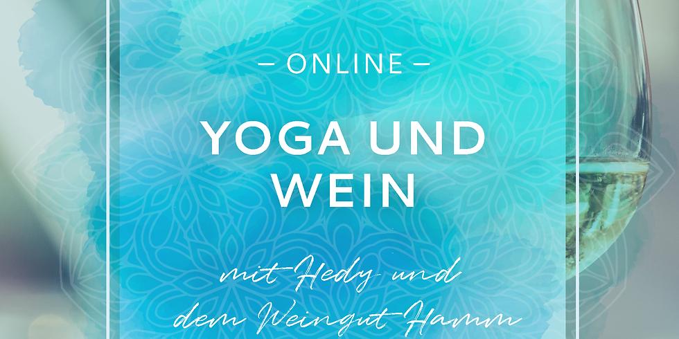 Online Yoga und Wein - Ein Fest für alle Sinne!