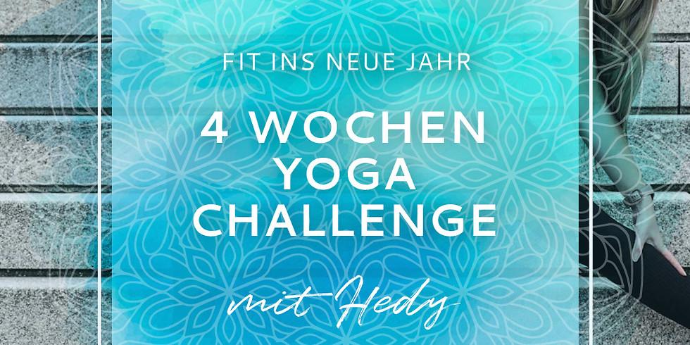 4 Wochen Yoga Challenge - Online