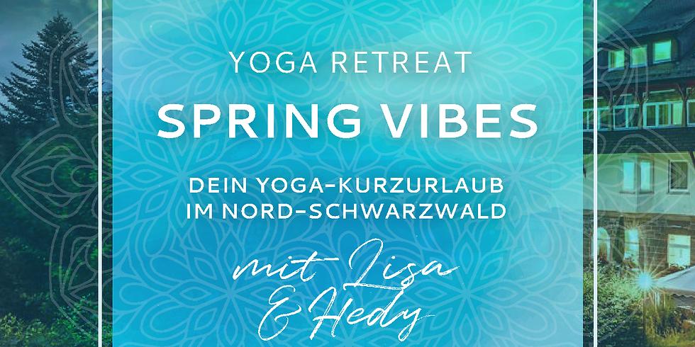"AUSGEBUCHT! - ""Spring Vibes"" YOGA-RETREAT"