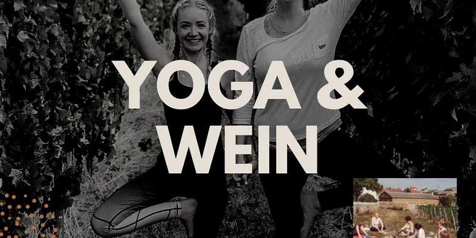 exklusives Yoga und Wein Event - Ein Fest für alle Sinne!