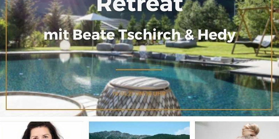 SET YOURSELF FREE Retreat in Südtirol/Italien mit Beate & Hedy