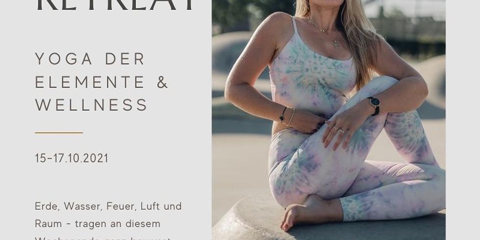 AUSGEBUCHT! - exklusives Yoga der ELEMENTE & Wellness Retreat in Rheinhessen