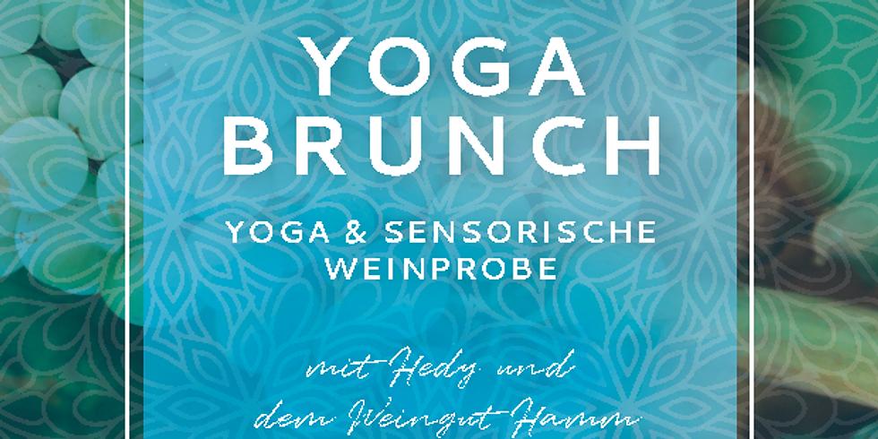 AUSGEBUCHT! Yoga Brunch und sensorische Weinprobe