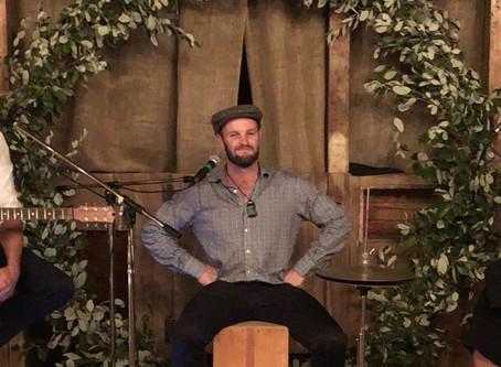 Ethno NZ Whanu Member, Jeremy Hantler at Ethnofonik!!