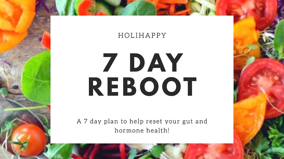 7 Day Hormone Reboot