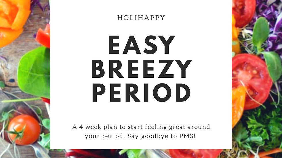 Easy Breezy Period Plan