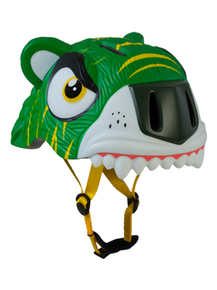 Helmet Green Tiger