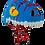 Thumbnail: Helmet Blue Dragon