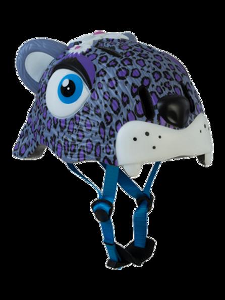Helmet Purple Leopard