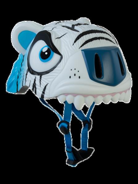Helmet White Tiger