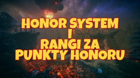 Honor System i Rangi za Punkty Honoru.