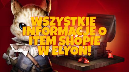 Ruby Shop czyli Item Shop w Elyon Online