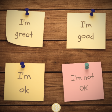How to be ok when you're not ok.