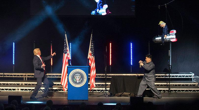 Mike Osman as Donald Trump