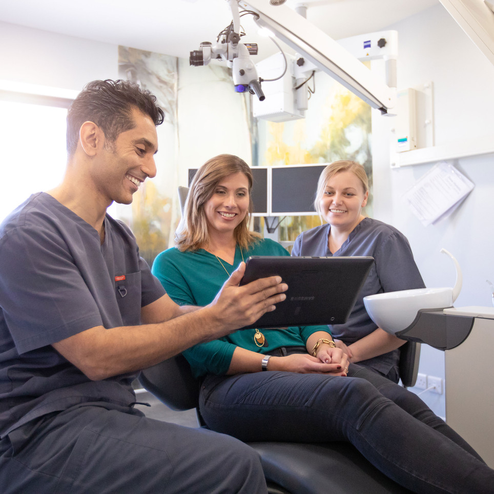 Commercial Photography for a South Coast Dental Practice