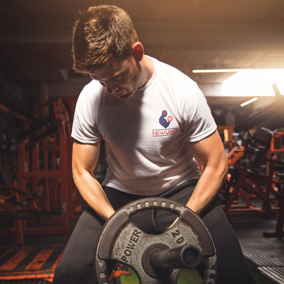 Commercial photography for a gym wear brand