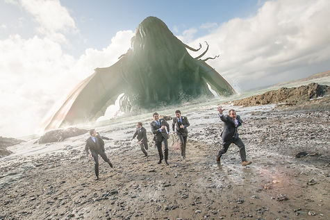 Cthulhu terrorises a wedding party