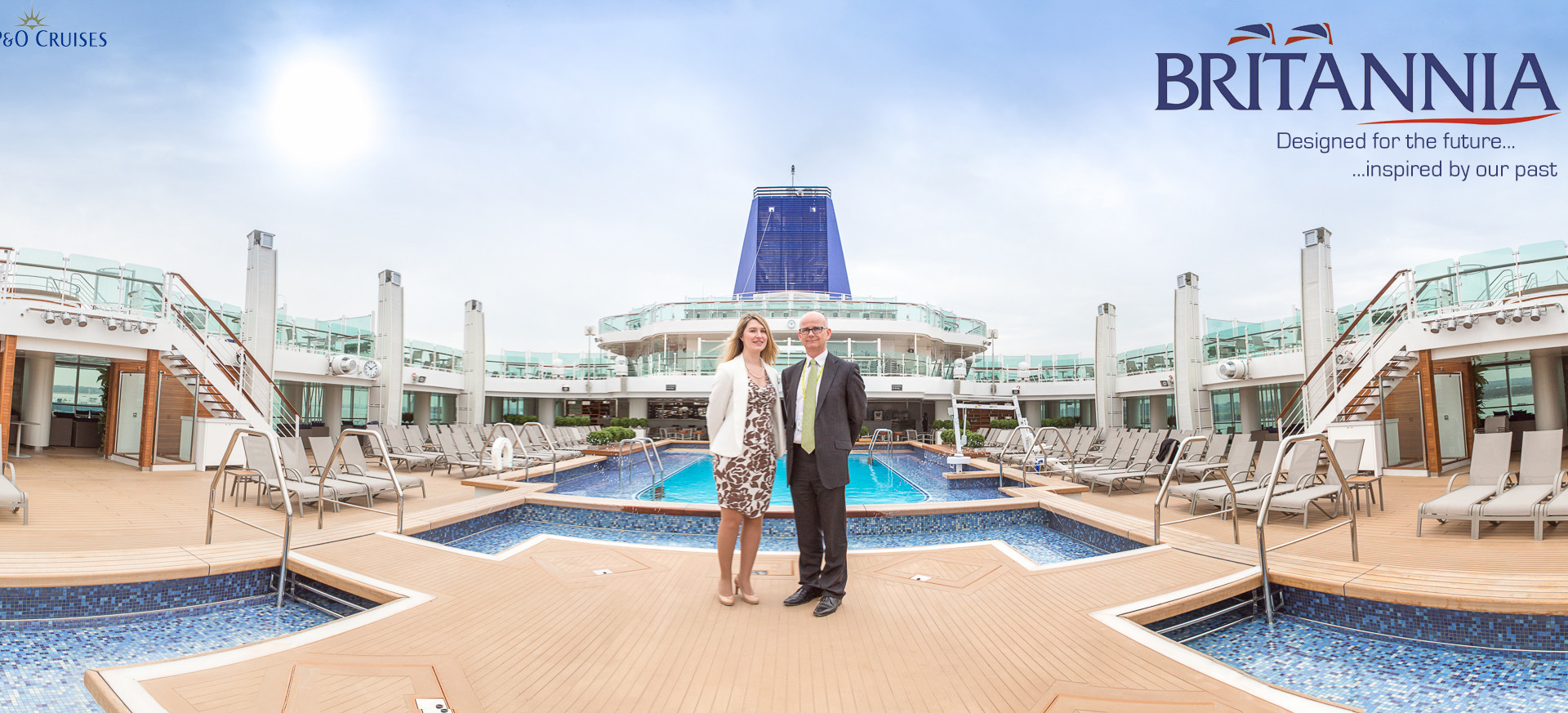 Commercial Photography for P&O Cruises