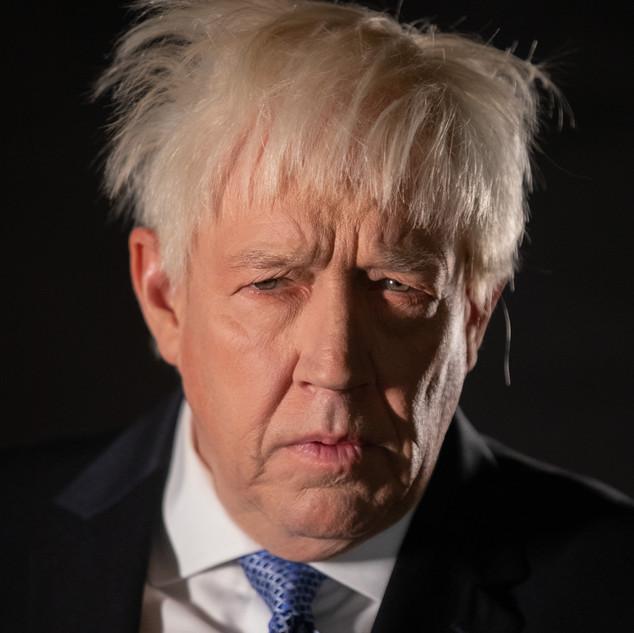Mike Osman as Boris Johnson