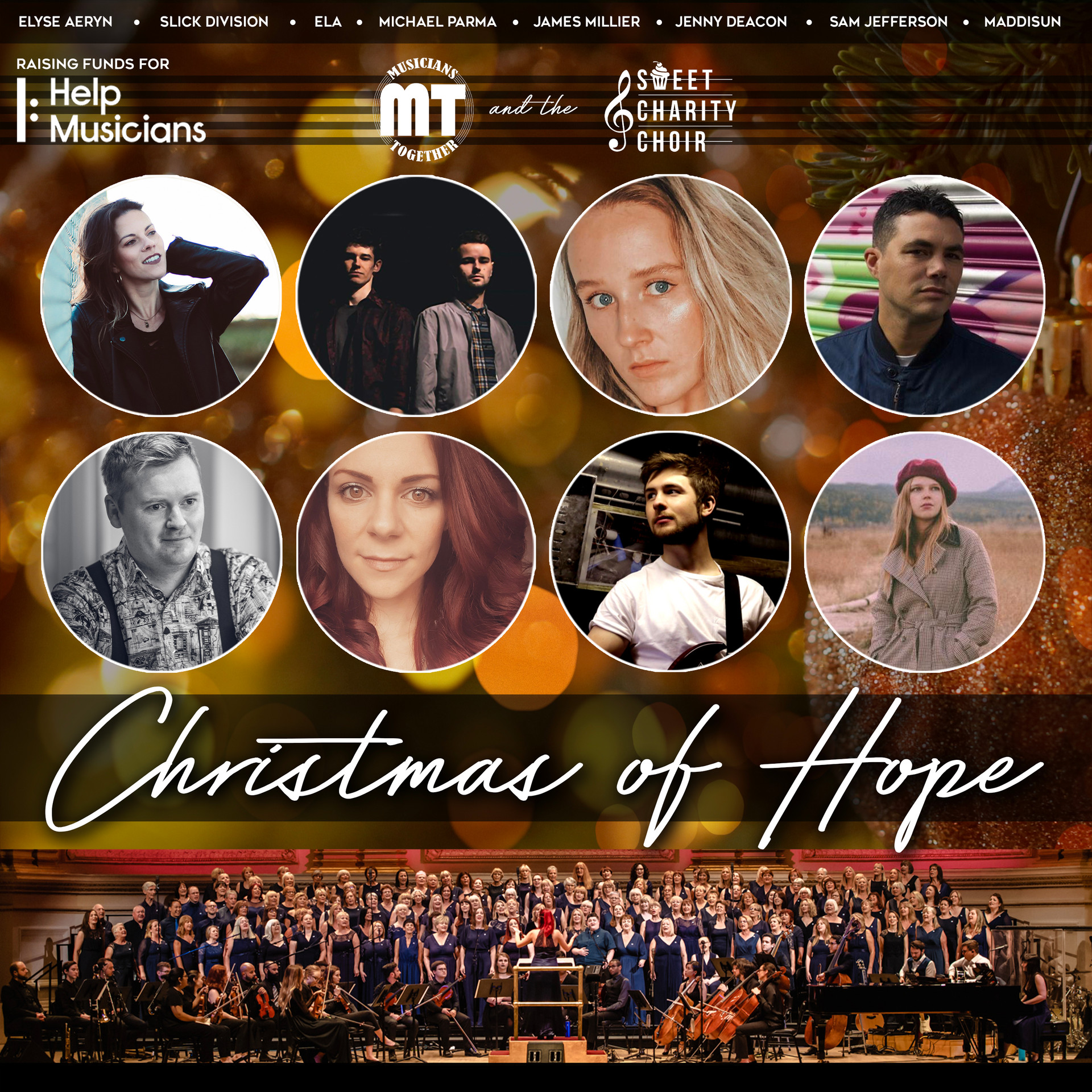 Christmas of Hope - Charity Christmas Single cover design 2020