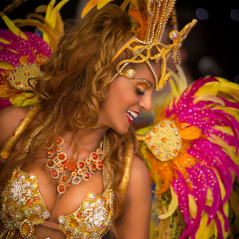 Brazilian Parade Dancer
