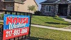 Under Pressure 217 House Wash Sign