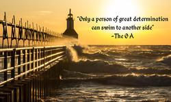 Great Determination quote