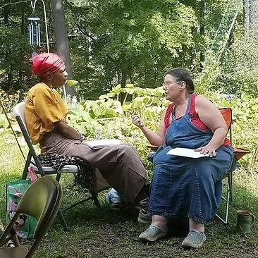 Sangoma Oludoye & Nancy Basket